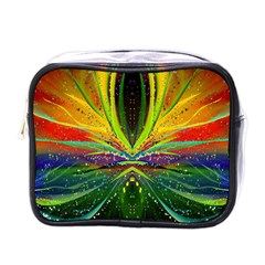 Future Abstract Desktop Wallpaper Mini Toiletries Bags by Simbadda