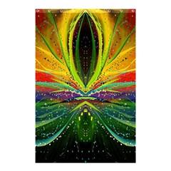 Future Abstract Desktop Wallpaper Shower Curtain 48  X 72  (small)  by Simbadda