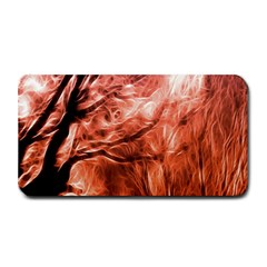 Fire In The Forest Artistic Reproduction Of A Forest Photo Medium Bar Mats by Simbadda