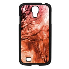 Fire In The Forest Artistic Reproduction Of A Forest Photo Samsung Galaxy S4 I9500/ I9505 Case (black) by Simbadda