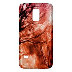 Fire In The Forest Artistic Reproduction Of A Forest Photo Galaxy S5 Mini by Simbadda
