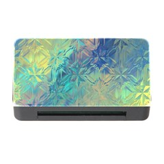 Colorful Patterned Glass Texture Background Memory Card Reader With Cf by Simbadda