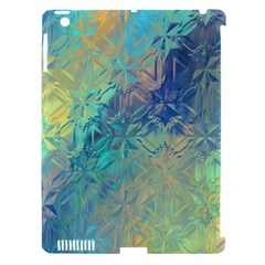Colorful Patterned Glass Texture Background Apple Ipad 3/4 Hardshell Case (compatible With Smart Cover) by Simbadda