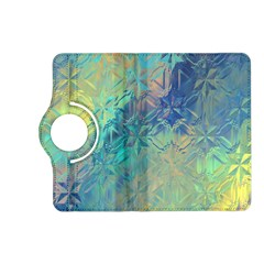 Colorful Patterned Glass Texture Background Kindle Fire Hd (2013) Flip 360 Case by Simbadda