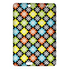 Diamond Argyle Pattern Colorful Diamonds On Argyle Style Amazon Kindle Fire Hd (2013) Hardshell Case by Simbadda