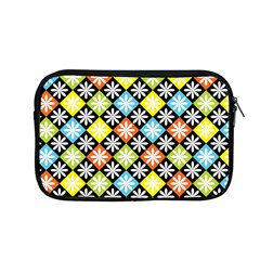 Diamond Argyle Pattern Colorful Diamonds On Argyle Style Apple Macbook Pro 13  Zipper Case by Simbadda