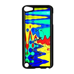 Bright Colours Abstract Apple Ipod Touch 5 Case (black) by Simbadda