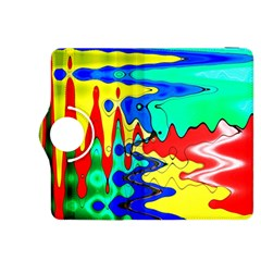 Bright Colours Abstract Kindle Fire Hdx 8 9  Flip 360 Case by Simbadda