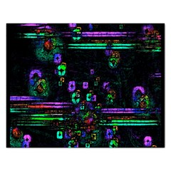 Digital Painting Colorful Colors Light Rectangular Jigsaw Puzzl by Simbadda