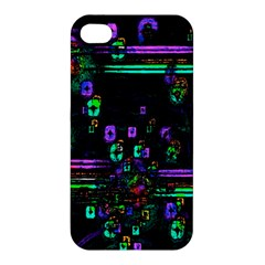 Digital Painting Colorful Colors Light Apple Iphone 4/4s Premium Hardshell Case by Simbadda