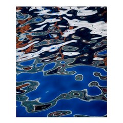 Colorful Reflections In Water Shower Curtain 60  X 72  (medium)  by Simbadda