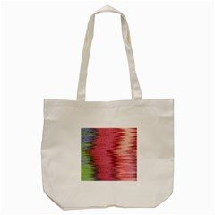 Rectangle Abstract Background In Pink Hues Tote Bag (cream) by Simbadda