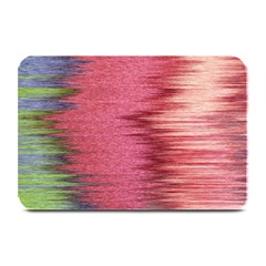 Rectangle Abstract Background In Pink Hues Plate Mats by Simbadda