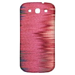 Rectangle Abstract Background In Pink Hues Samsung Galaxy S3 S Iii Classic Hardshell Back Case by Simbadda