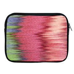 Rectangle Abstract Background In Pink Hues Apple Ipad 2/3/4 Zipper Cases by Simbadda