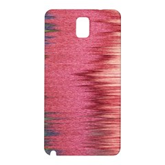 Rectangle Abstract Background In Pink Hues Samsung Galaxy Note 3 N9005 Hardshell Back Case by Simbadda