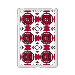 Seamless Abstract Pattern With Red Elements Background iPad Mini 2 Enamel Coated Cases by Simbadda