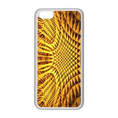 Patterned Wallpapers Apple Iphone 5c Seamless Case (white) by Simbadda
