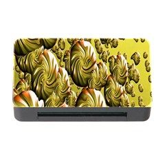 Melting Gold Drops Brighten Version Abstract Pattern Revised Edition Memory Card Reader With Cf by Simbadda