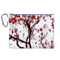Tree Art Artistic Abstract Background Canvas Cosmetic Bag (xl) by Simbadda