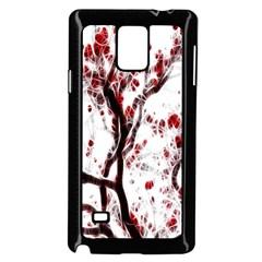 Tree Art Artistic Abstract Background Samsung Galaxy Note 4 Case (black) by Simbadda