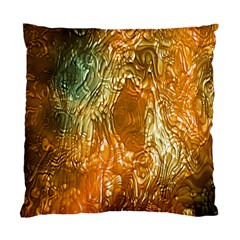 Light Effect Abstract Background Wallpaper Standard Cushion Case (one Side) by Simbadda
