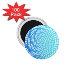 Abstract Pattern Neon Glow Background 1 75  Magnets (100 Pack)  by Simbadda