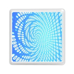 Abstract Pattern Neon Glow Background Memory Card Reader (square)  by Simbadda