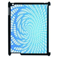 Abstract Pattern Neon Glow Background Apple Ipad 2 Case (black) by Simbadda