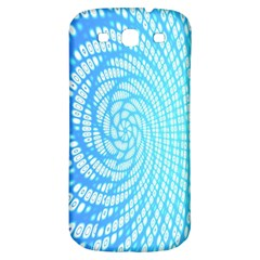 Abstract Pattern Neon Glow Background Samsung Galaxy S3 S Iii Classic Hardshell Back Case by Simbadda
