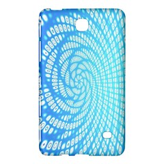 Abstract Pattern Neon Glow Background Samsung Galaxy Tab 4 (7 ) Hardshell Case  by Simbadda