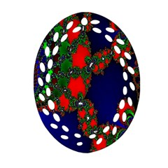 Recurring Circles In Shape Of Amphitheatre Ornament (oval Filigree) by Simbadda