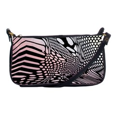 Abstract Fauna Pattern When Zebra And Giraffe Melt Together Shoulder Clutch Bags by Simbadda
