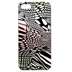 Abstract Fauna Pattern When Zebra And Giraffe Melt Together Apple Iphone 5 Hardshell Case With Stand by Simbadda