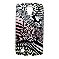 Abstract Fauna Pattern When Zebra And Giraffe Melt Together Galaxy S4 Active by Simbadda