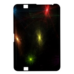 Star Lights Abstract Colourful Star Light Background Kindle Fire Hd 8 9  by Simbadda