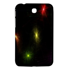 Star Lights Abstract Colourful Star Light Background Samsung Galaxy Tab 3 (7 ) P3200 Hardshell Case  by Simbadda
