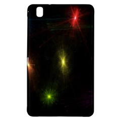 Star Lights Abstract Colourful Star Light Background Samsung Galaxy Tab Pro 8 4 Hardshell Case by Simbadda