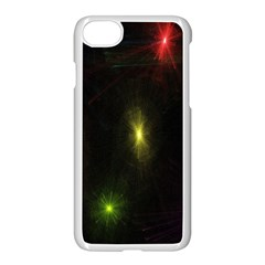 Star Lights Abstract Colourful Star Light Background Apple Iphone 7 Seamless Case (white) by Simbadda