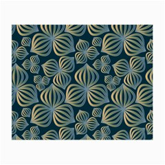 Gradient Flowers Abstract Background Small Glasses Cloth by Simbadda