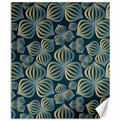 Gradient Flowers Abstract Background Canvas 20  X 24   by Simbadda