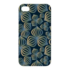 Gradient Flowers Abstract Background Apple Iphone 4/4s Hardshell Case by Simbadda