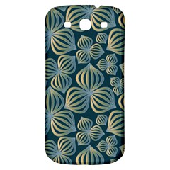 Gradient Flowers Abstract Background Samsung Galaxy S3 S Iii Classic Hardshell Back Case by Simbadda