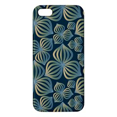 Gradient Flowers Abstract Background Iphone 5s/ Se Premium Hardshell Case by Simbadda