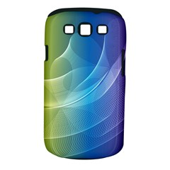 Colorful Guilloche Spiral Pattern Background Samsung Galaxy S Iii Classic Hardshell Case (pc+silicone) by Simbadda