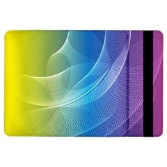 Colorful Guilloche Spiral Pattern Background Ipad Air 2 Flip by Simbadda