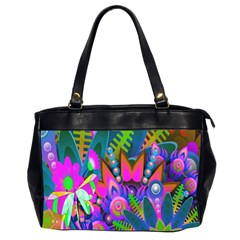 Wild Abstract Design Office Handbags (2 Sides)  by Simbadda