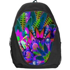 Wild Abstract Design Backpack Bag by Simbadda