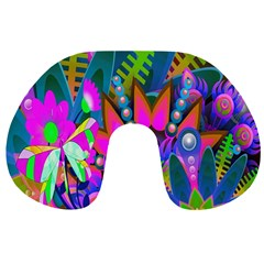 Wild Abstract Design Travel Neck Pillows by Simbadda