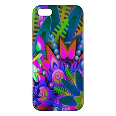 Wild Abstract Design Iphone 5s/ Se Premium Hardshell Case by Simbadda